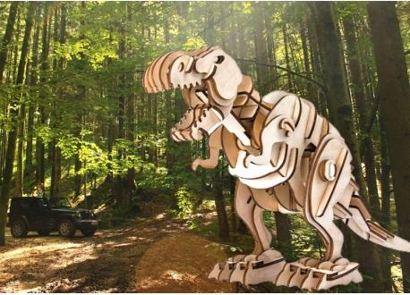 木製聲控恐龍 - 暴龍T-Rex (Robotic Walking Dinosaur TRex)
