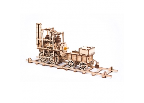 Wooden City 蒸汽火車頭 (W. City Locomotive)