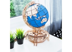 Wooden City 地球儀/藍色 (W. City Globe Blue)